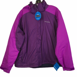 Primary Photo - BRAND: COLUMBIA STYLE: JACKET OUTDOOR COLOR: PURPLE SIZE: 2X SKU: 283-28388-26722