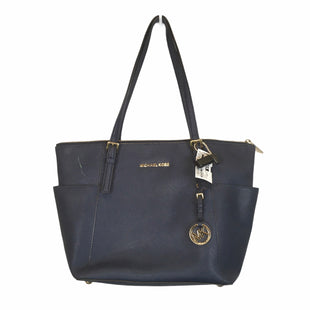 Primary Photo - BRAND: MICHAEL KORS STYLE: HANDBAG DESIGNER COLOR: BLUE SIZE: MEDIUM OTHER INFO: AS IS - STAINING SKU: 283-283133-16118