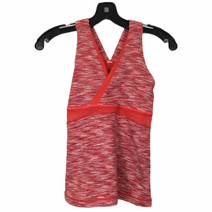 Primary Photo - BRAND: LULULEMON STYLE: ATHLETIC TANK TOP COLOR: RED SIZE: 6 SKU: 283-28388-22230