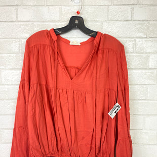 Primary Photo - BRAND: COTTON CANDY STYLE: TOP LONG SLEEVE COLOR: ORANGE SIZE: S SKU: 283-28388-14250