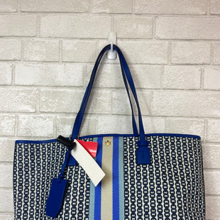 Primary Photo - BRAND: TORY BURCH STYLE: HANDBAG DESIGNER COLOR: BLUE SIZE: LARGE OTHER INFO: AS IS SKU: 283-28389-43148
