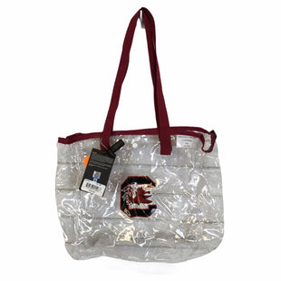 Primary Photo - BRAND:    CLOTHES MENTOR STYLE: HANDBAG COLOR: CLEAR SIZE: MEDIUM OTHER INFO: LOGO - SOUTH CAROLINA GAMECOCKS SKU: 283-283133-16084