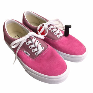 Primary Photo - BRAND: VANS STYLE: SHOES LOW HEEL COLOR: PINK SIZE: 9 OTHER INFO: NEW! SKU: 283-283148-1381