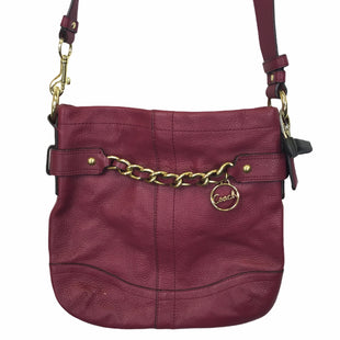 Primary Photo - BRAND: COACH STYLE: HANDBAG DESIGNER COLOR: RED SIZE: MEDIUM OTHER INFO: AS IS SKU: 283-28388-27702