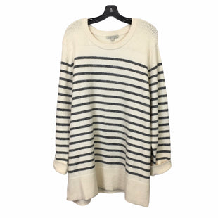 Primary Photo - BRAND: HAWTHORN STYLE: SWEATER LIGHTWEIGHT COLOR: CREAM SIZE: 3X SKU: 283-283124-22656