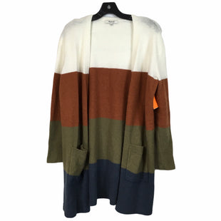 Primary Photo - BRAND: MADEWELL STYLE: SWEATER CARDIGAN LIGHTWEIGHT COLOR: MULTI SIZE: XS SKU: 283-283134-8890