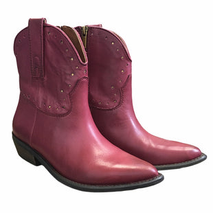 Primary Photo - BRAND: LUCKY BRAND STYLE: BOOTS ANKLE COLOR: MAGENTA SIZE: 7.5 OTHER INFO: AS IS SKU: 283-283135-4165