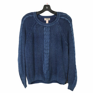 Primary Photo - BRAND: FOREVER 21 STYLE: SWEATER LIGHTWEIGHT COLOR: BLUE SIZE: S SKU: 283-283149-7079