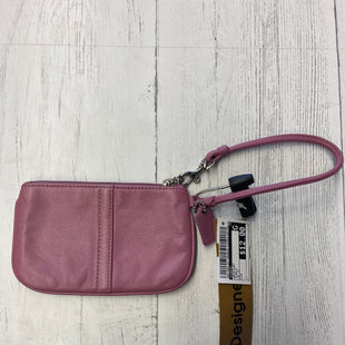 Primary Photo - BRAND: COACH STYLE: WRISTLET COLOR: PURPLE OTHER INFO: AS IS SKU: 283-283124-18528