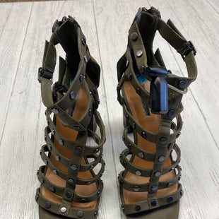 Primary Photo - BRAND: BCBG STYLE: SANDALS HIGH COLOR: GREEN SIZE: 7.5 SKU: 283-283149-1570