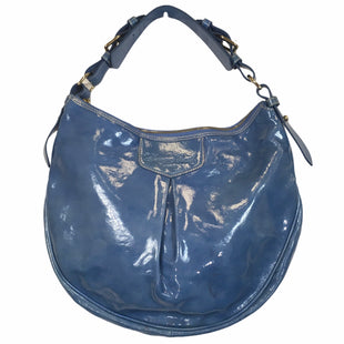 Primary Photo - BRAND: DOONEY AND BOURKE STYLE: HANDBAG DESIGNER COLOR: BLUE SIZE: MEDIUM OTHER INFO: AS IS- MARKINGS ON EXTERIORSKU: 283-28388-27724