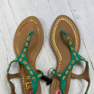 Primary Photo - BRAND: DOLCE VITA STYLE: SANDALS FLAT COLOR: GREEN SIZE: 9 SKU: 283-283133-13432