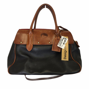 Primary Photo - BRAND: DOONEY AND BOURKE STYLE: HANDBAG DESIGNER COLOR: BLACK SIZE: MEDIUM OTHER INFO: AS IS SKU: 283-283145-2393