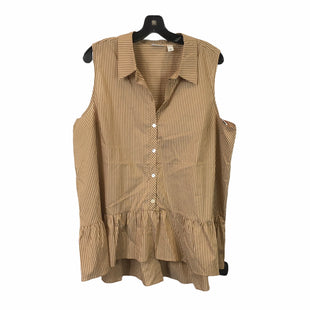 Primary Photo - BRAND: LOGO STYLE: TOP SLEEVELESS COLOR: BROWN SIZE: XL SKU: 283-283149-7147