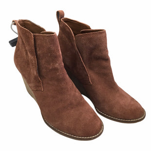 Primary Photo - BRAND: LUCKY BRAND STYLE: BOOTS ANKLE COLOR: RUST SIZE: 8.5 SKU: 283-283133-16493