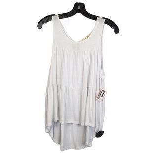 Primary Photo - BRAND: FREEBIRD STYLE: TOP SLEEVELESS COLOR: WHITE SIZE: L SKU: 283-283145-2564