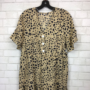 Primary Photo - BRAND:    CLOTHES MENTOR STYLE: DRESS SHORT SHORT SLEEVE COLOR: ANIMAL PRINT SIZE: M SKU: 283-28388-14033