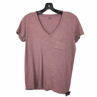Primary Photo - BRAND: MADEWELL STYLE: TOP SHORT SLEEVE BASIC COLOR: PURPLE SIZE: S SKU: 283-283134-9174
