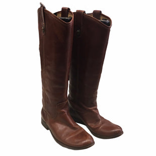 Primary Photo - BRAND: FRYE STYLE: BOOTS DESIGNER COLOR: BROWN SIZE: 5.5 OTHER INFO: AS IS SKU: 283-28388-24101