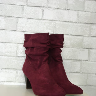 Primary Photo - BRAND: KAARI BLUE STYLE: BOOTS ANKLE COLOR: BURGUNDY SIZE: 8.5 SKU: 283-283149-5058