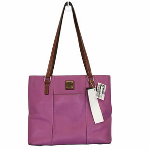 Primary Photo - BRAND: DOONEY AND BOURKE STYLE: HANDBAG DESIGNER COLOR: PURPLE SIZE: MEDIUM OTHER INFO: AS IS SKU: 283-28388-22536