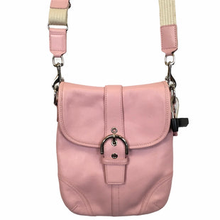 Primary Photo - BRAND: COACH STYLE: HANDBAG DESIGNER COLOR: PINK SIZE: SMALL OTHER INFO: AS IS SKU: 283-283135-4806