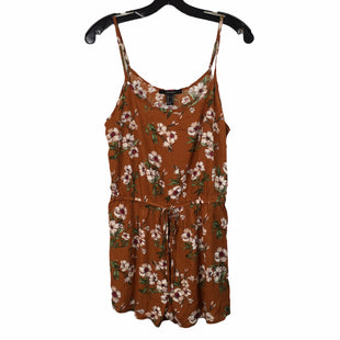 Primary Photo - BRAND: FOREVER 21 STYLE: DRESS SHORT SLEEVELESS COLOR: ORANGE SIZE: M SKU: 283-283133-16069