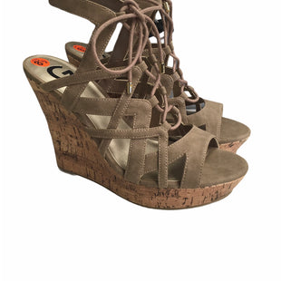 Primary Photo - BRAND: G BY GUESS STYLE: SANDALS HIGH COLOR: TAUPE SIZE: 8.5 SKU: 283-283134-9978
