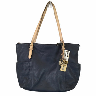 Primary Photo - BRAND: MICHAEL KORS STYLE: HANDBAG DESIGNER COLOR: NAVY SIZE: MEDIUM OTHER INFO: AS IS SKU: 283-28388-20402