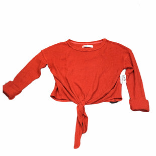 Primary Photo - BRAND: FREE PEOPLE STYLE: SWEATER LIGHTWEIGHT COLOR: ORANGE SIZE: XS SKU: 283-28388-20488