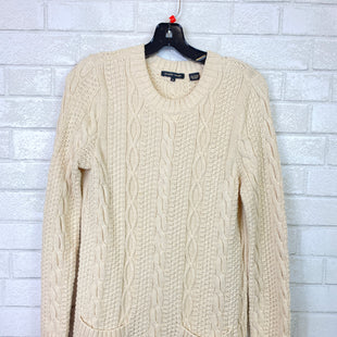 Primary Photo - BRAND: JEANNE PIERRE STYLE: SWEATER LIGHTWEIGHT COLOR: CREAM SIZE: S SKU: 283-28388-12215