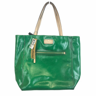 Primary Photo - BRAND: KATE SPADE STYLE: HANDBAG DESIGNER COLOR: GREEN SIZE: MEDIUM OTHER: DISCOLORATION IN SOME AREASSKU: 283-28388-25866
