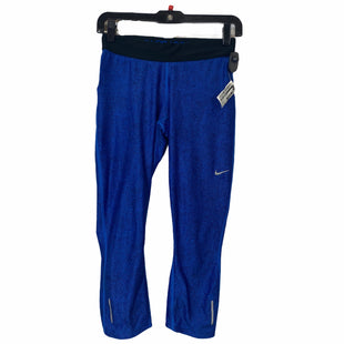 Primary Photo - BRAND: NIKE APPAREL STYLE: ATHLETIC CAPRIS COLOR: BLUE SIZE: S SKU: 283-28388-15931