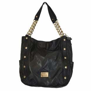 Primary Photo - BRAND: MICHAEL KORS STYLE: HANDBAG DESIGNER COLOR: BLACK SIZE: MEDIUM OTHER INFO: AS IS SKU: 283-28388-27722