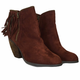 Primary Photo - BRAND: NOT RATED STYLE: BOOTS ANKLE COLOR: BROWN SIZE: 8.5 SKU: 283-283133-15488