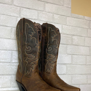 Primary Photo - BRAND: LAREDO STYLE: BOOTS KNEE COLOR: BROWN SIZE: 7.5 SKU: 283-283134-8371