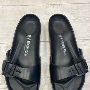 Primary Photo - BRAND: BIRKENSTOCK STYLE: SANDALS FLAT COLOR: BLACK SIZE: 9 SKU: 283-283134-6887