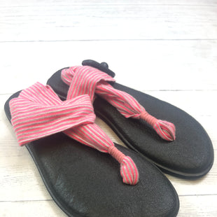 Primary Photo - BRAND: SANUK STYLE: SANDALS FLAT COLOR: PINK SIZE: 8 OTHER INFO: AS IS SKU: 283-283124-18680