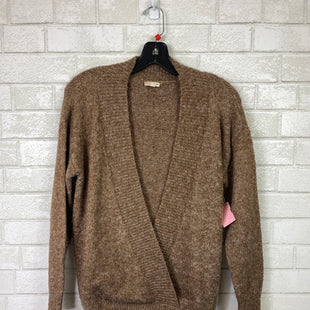 Primary Photo - BRAND: HEM & THREAD STYLE: SWEATER LIGHTWEIGHT COLOR: BROWN SIZE: S SKU: 283-283104-9603