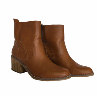 Primary Photo - BRAND: MOSSIMO STYLE: BOOTS ANKLE COLOR: BROWN SIZE: 9 SKU: 283-28388-25865