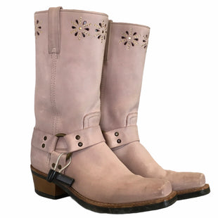 Primary Photo - BRAND: FRYE STYLE: BOOTS DESIGNER COLOR: DUSTY PINK SIZE: 10 OTHER INFO: AS IS SKU: 283-283124-22489