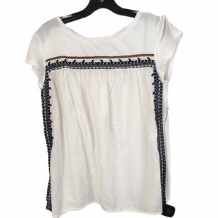 Primary Photo - BRAND: ANN TAYLOR LOFT STYLE: TOP SHORT SLEEVE COLOR: WHITE SIZE: S SKU: 283-283135-4832