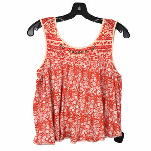 Primary Photo - BRAND: FREE PEOPLE STYLE: TOP SLEEVELESS COLOR: ORANGE SIZE: XS SKU: 283-28388-26108