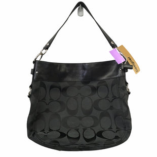 Primary Photo - BRAND: COACH STYLE: HANDBAG DESIGNER COLOR: BLACK SIZE: MEDIUM OTHER INFO: AS IS SKU: 283-283133-17282