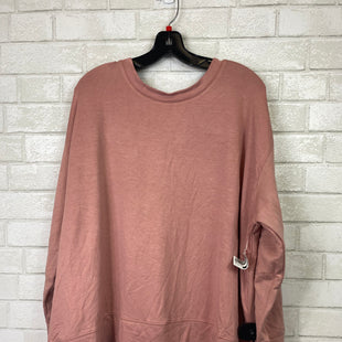 Primary Photo - BRAND: AVA & VIV STYLE: TOP LONG SLEEVE COLOR: PINK SIZE: 2X SKU: 283-283124-19915