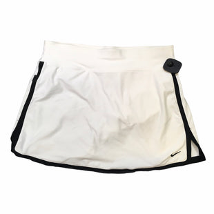 Primary Photo - BRAND: NIKE APPAREL STYLE: ATHLETIC SKIRT SKORT COLOR: WHITE SIZE: S SKU: 283-283134-10523