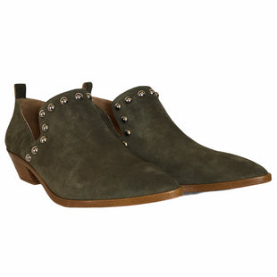 Primary Photo - BRAND: REBECCA MINKOFF STYLE: BOOTS DESIGNER COLOR: GREEN SIZE: 9.5 OTHER INFO: AS IS SKU: 283-28388-20916