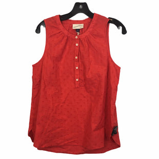 Primary Photo - BRAND: UNIVERSAL THREAD STYLE: TOP SLEEVELESS COLOR: RED SIZE: S SKU: 283-283134-10170
