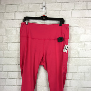 Primary Photo - BRAND: ACTIVE LIFE STYLE: ATHLETIC CAPRIS COLOR: PINK SIZE: XXL SKU: 283-28388-13389