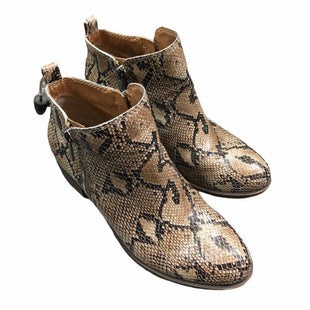 Primary Photo - BRAND: LUCKY BRAND STYLE: BOOTS ANKLE COLOR: ANIMAL PRINT SIZE: 5.5 SKU: 283-283149-7326
